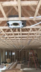 Eastern Heat Pump completed the Camp Allen Mitsubishi HVAC NH project